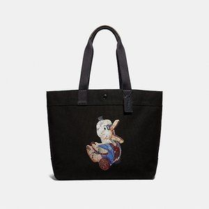 COACH FISHER-PRICE DOODLE DUCK MOTIF TOTE NWT